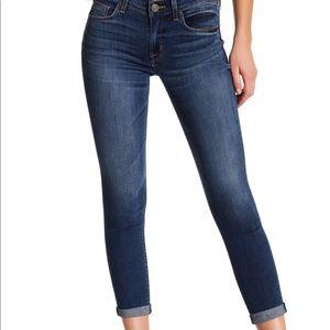 NWOT Hudson Crop Harkin Super Skinny Jean W/ Cuff